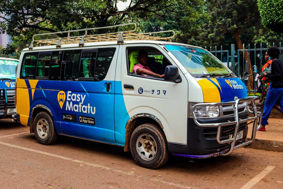 Easy Matatu offers a free token ride when you book a scheduled ride